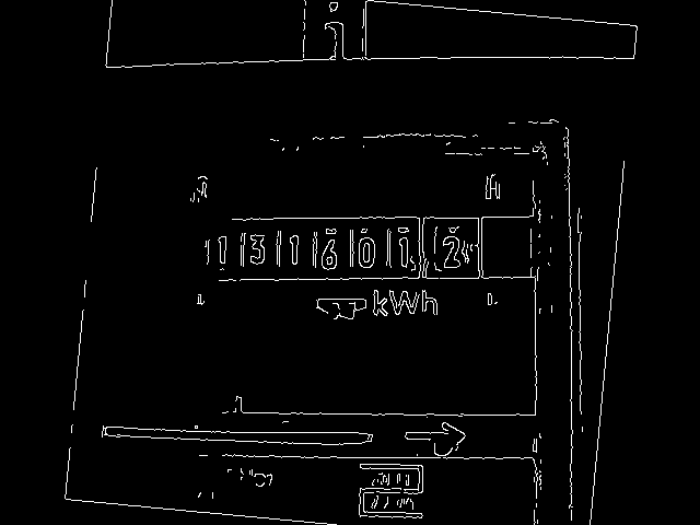 OpenCV practice: OCR for the electricity meter